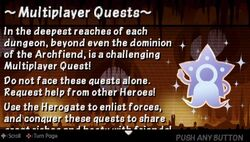 Multiplayer Quests