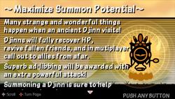 Max summon potential