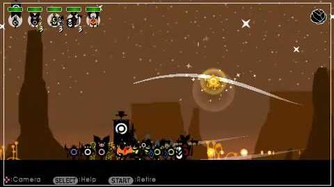 Patapon 2 walkthrough Mission 23 Shiny Star and Black Star