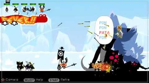Patapon 2 walkthrough Mammoth fight mission 22