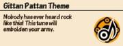 Gittan Pattan Theme Inventory