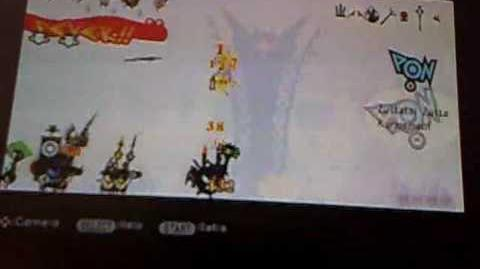 Patapon 2 walkthrough Get the catapult for destruction mission 35