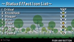 Tip status effect icon list