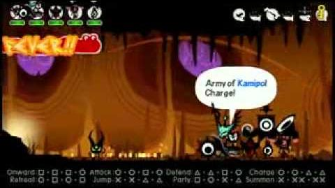 Patapon 3 First Dungeon Gameplay 7m37s 1280x720-0