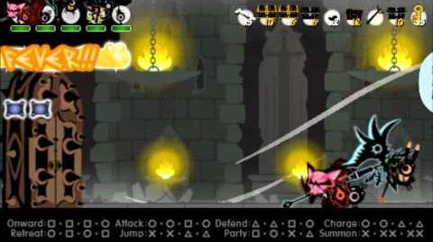 Patapon 3- Walkthrough pt 21 Archfiend of Justice level 2