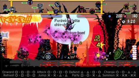 Patapon 3 Walkthrough pt 39 Slogturtle the Mobile Shelter