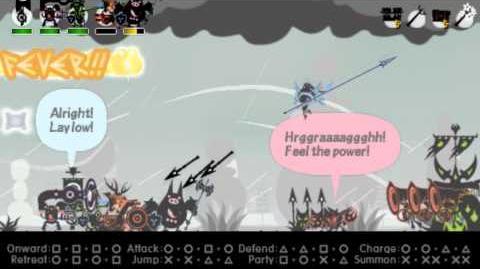Patapon 3 Walkthrough pt 18 Standoffish Sonarchy and the Perilous Mist