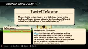Archfiend of Tolerance quest info