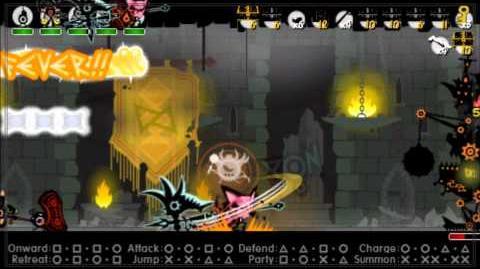 Patapon 3- Walkthrough pt 22 Archfiend of Justice level 3