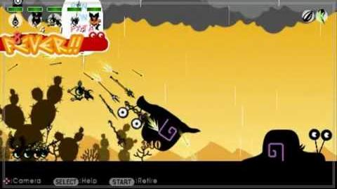 Patapon 2 walkthrough Hunting in the Desert mission 31