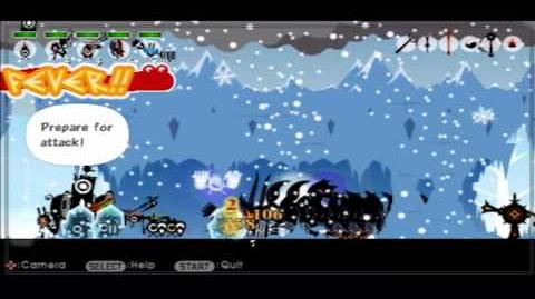 """Patapon 2- Mission 13 """"Through the Wall of Ice"""""""