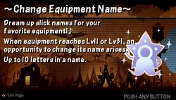 Change quip name