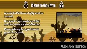 Hunt in the Rain