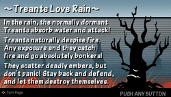 Treants love rain