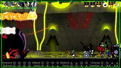 Patapon 3 Walkthrough pt 46 Archfiend of Tolerance (Last level and Final boss!)