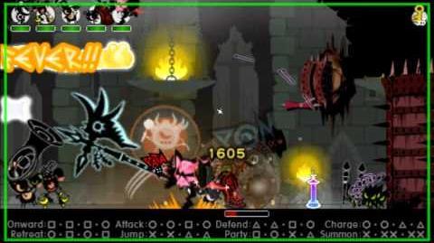 Patapon 3- Walkthrough pt 20 Archfiend of Justice level 1