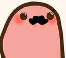 Patata con bigote