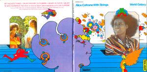 Alice Coltrane With Strings - World Galaxy Front MiniVinil
