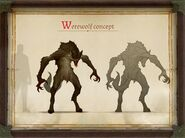 Pathfinder Kingmaker werewolf concept art