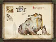 Pathfinder Kingmaker slurk concept art