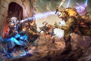 Orcs at the gates