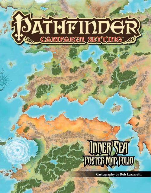 Delightful Inner Sea Poster Map Folio