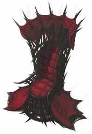 Crimson throne