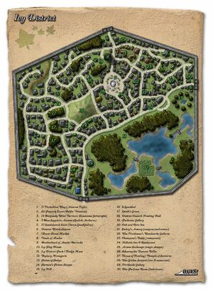 Ivy District map