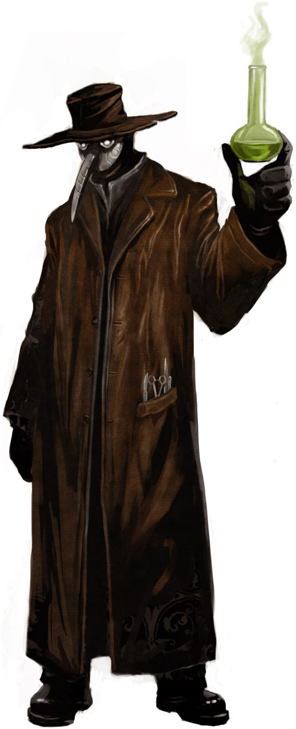 The Black Plague Doctor Costume Plague Doctor Mask Costume Robe