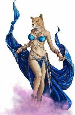 Rakshasa dancer