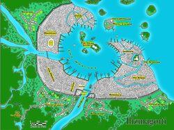 Ilizmagorti map