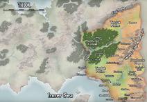 Региональная карта Талдора