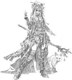 Witch sketch