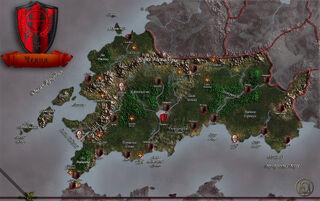 Cheliax map rus by markonphoenix