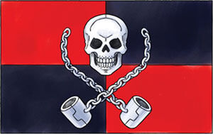 Shackles symbol