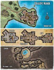 Foxglove Manor map