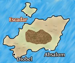 Escadar map