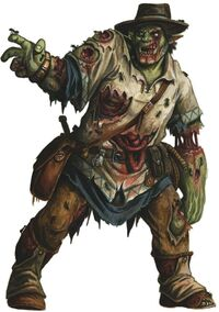 Half-orc zombie
