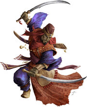 Katapeshi swordfighter