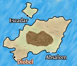 Diobel map