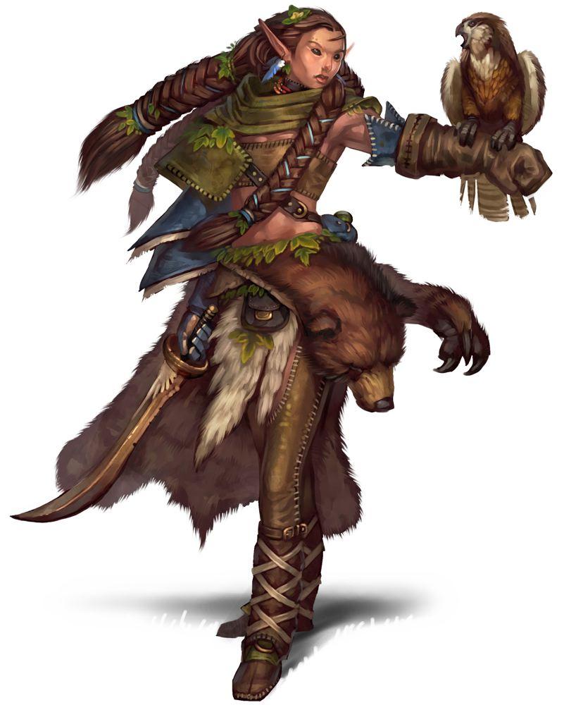Nature S Warrior Prestige Class