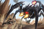 Numerian mecha scorpion