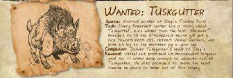 Wanted tuskgutter