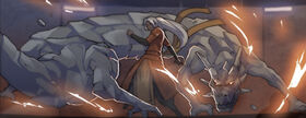 An'jhali with dragon summon