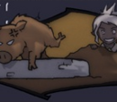 Amaranth Forest Boar