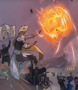 Tali with fireball