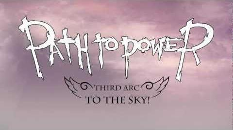 Path to power To the sky!