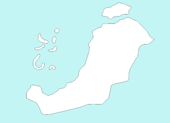 Blank map of Patriam