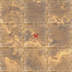 Treasure map luebeck
