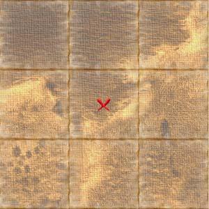 Treasure map gdansk